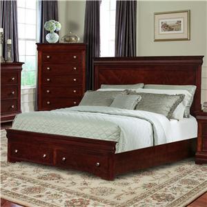 Davis Direct Dupont King Headboard & Footboard Bed
