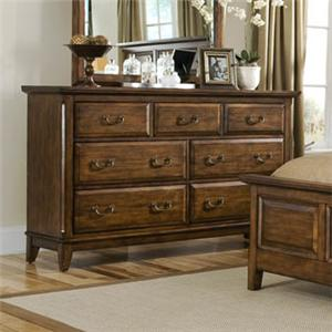 Davis Direct Mango  6 Drawer Dresser