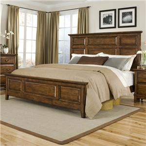 Davis Direct Mango  King Headboard and Footboard Bed