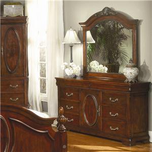 Davis Direct Regency Triple Dresser & Mirror