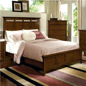 Davis Direct Sterling Heights King Headboard and Footboard Bed