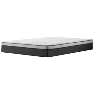 "Twin 12"" Plush Euro Top Hybrid Mattress"