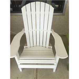 Crisp White Chair