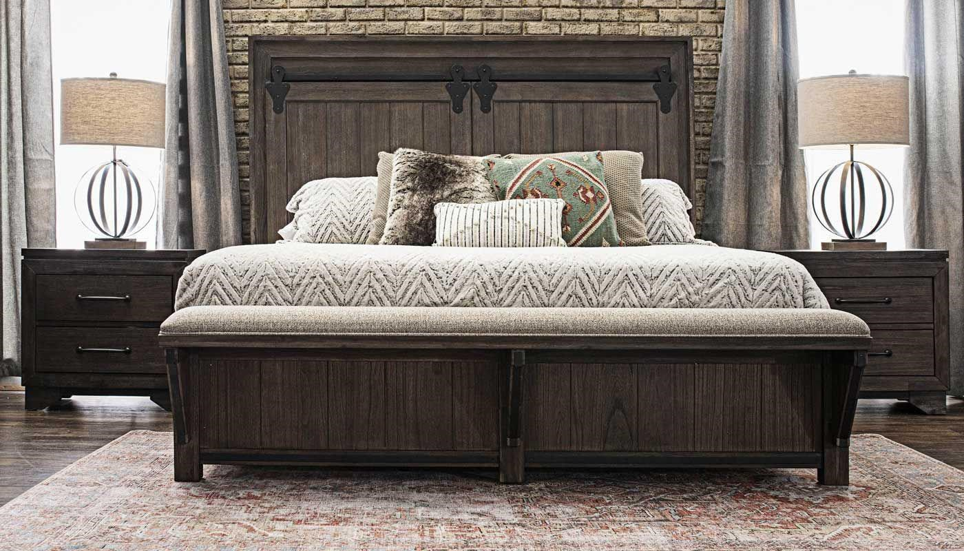 B024 6PC KING BEDROOM by Household Furniture Direct at Household Furniture