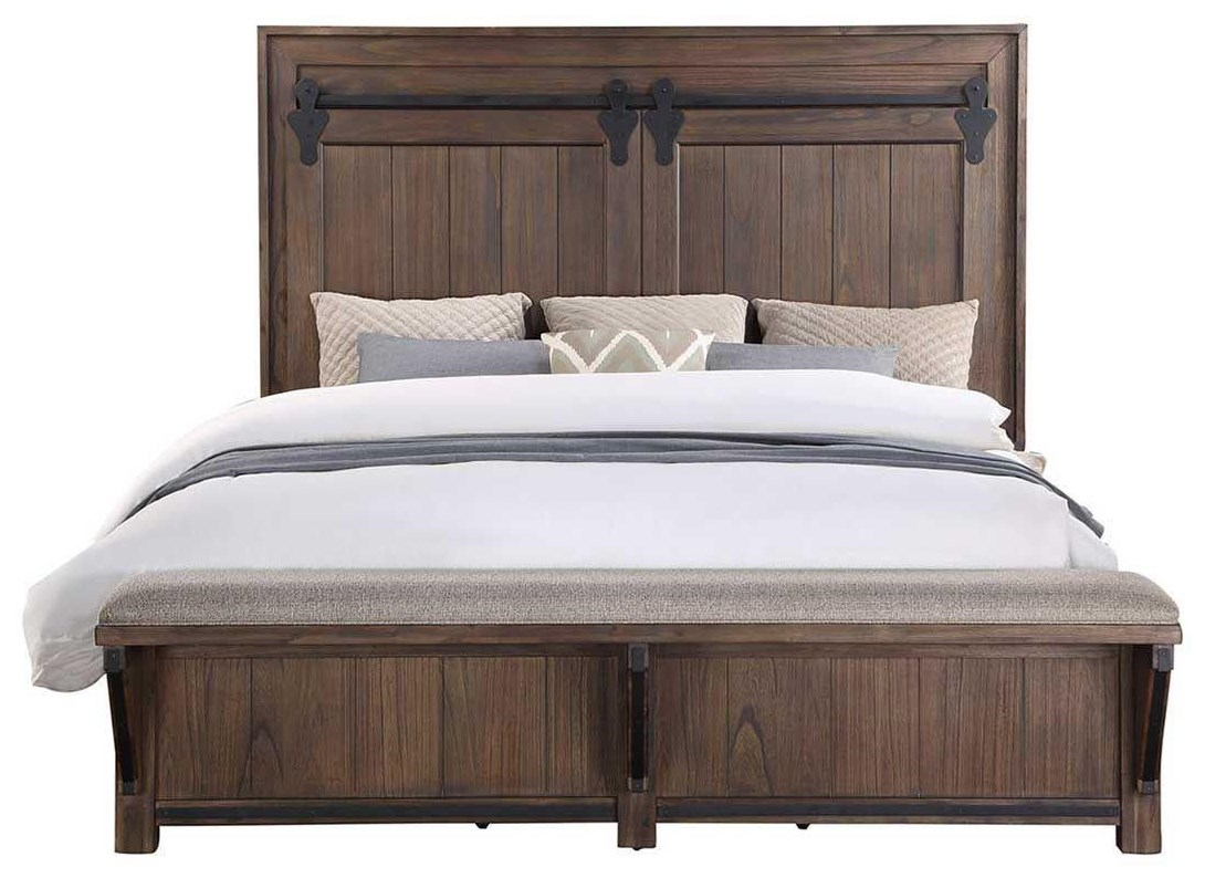 B024 KING BED by Household Furniture Direct at Household Furniture