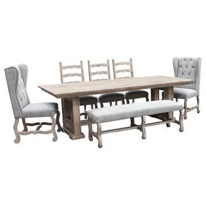 5 piece Dinette with Bench