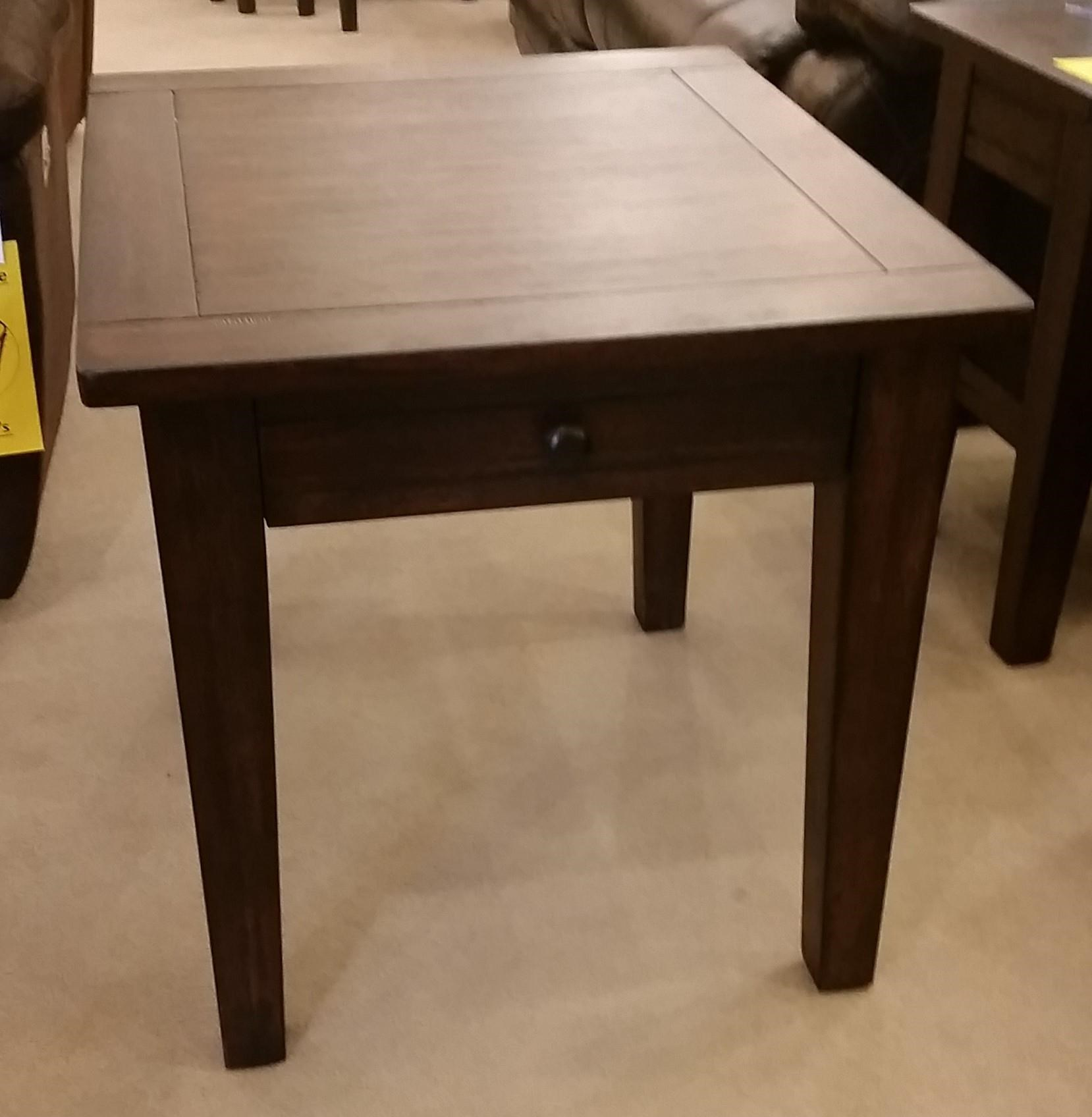 Prairie 1 Drawer End Table at Rife's Home Furniture
