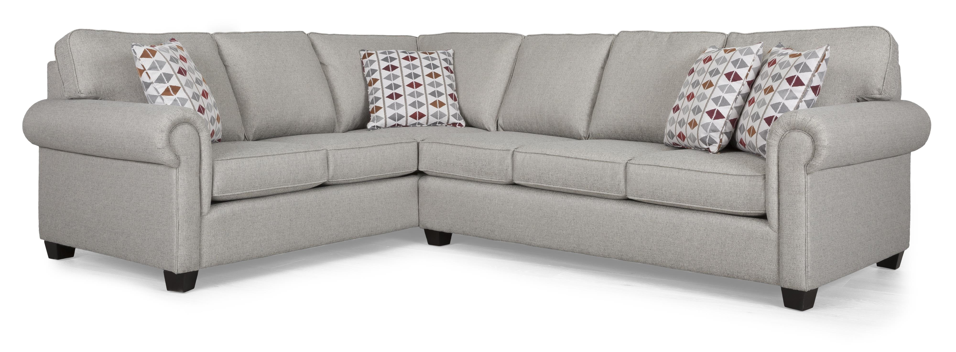 2006 Sectional Sectional Sofa Group by Decor-Rest at Rooms for Less