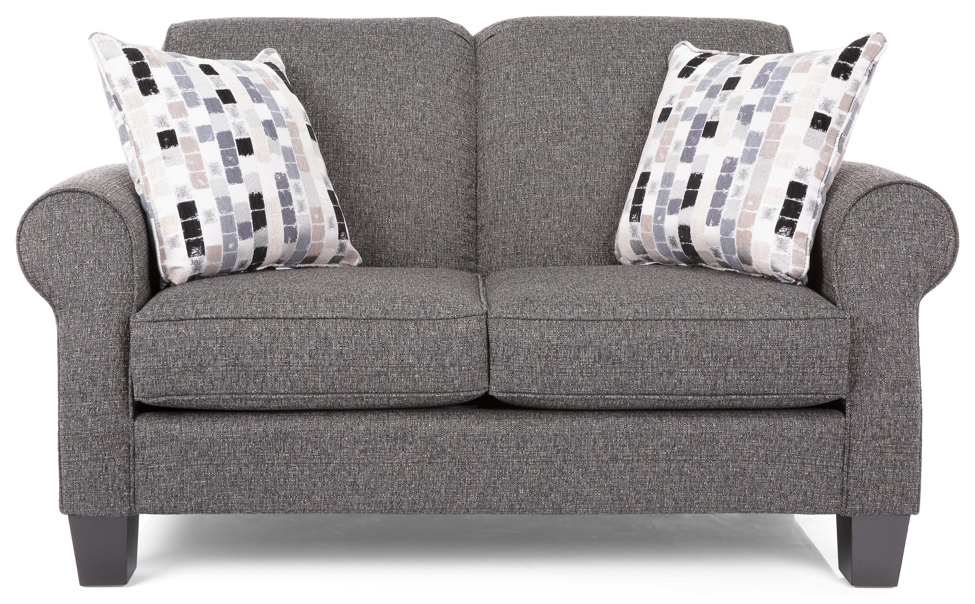 Monica Loveseat by Taelor Designs at Bennett's Furniture and Mattresses