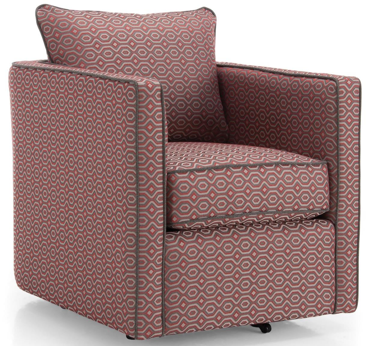 2050 Swivel Chair by Decor-Rest at Upper Room Home Furnishings