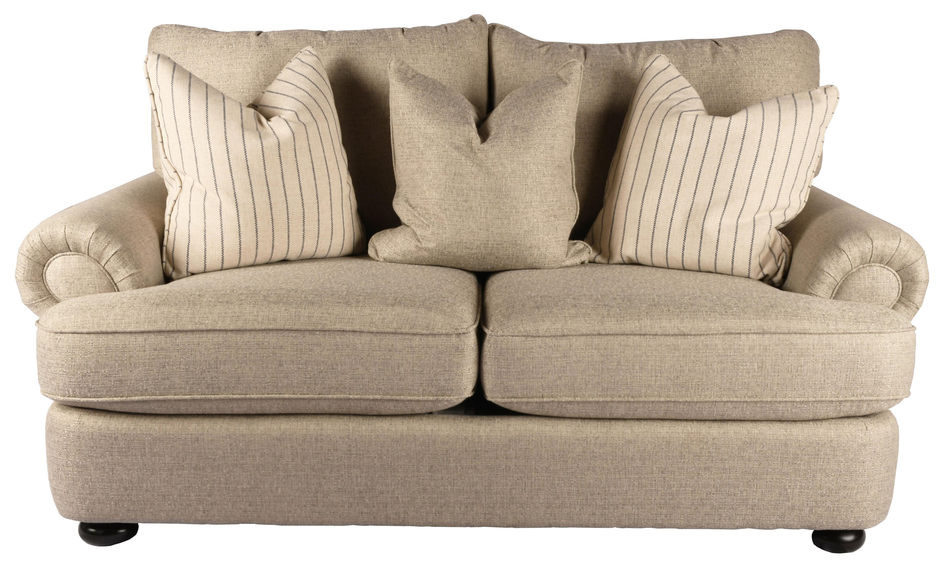 Chandos Love Seat by Taelor Designs at Bennett's Furniture and Mattresses