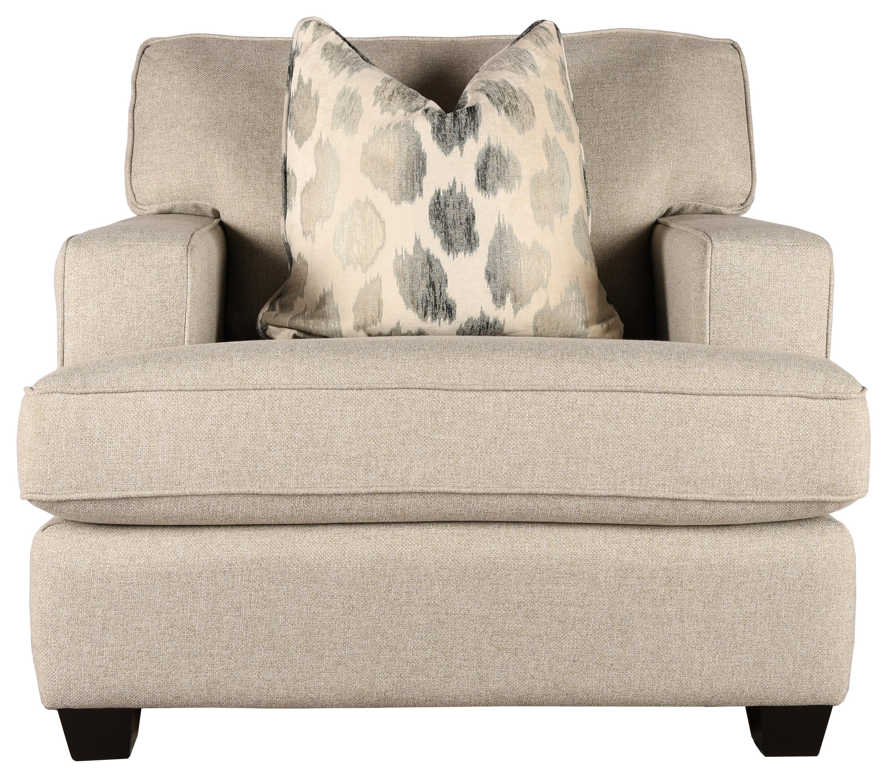 2052 Arm Chair by Taelor Designs at Bennett's Furniture and Mattresses