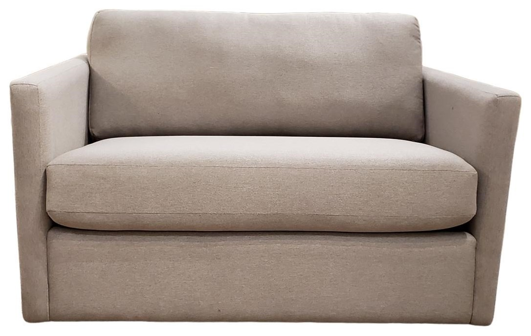 2068 Loveseat Twin Sleeper by Decor-Rest at Upper Room Home Furnishings