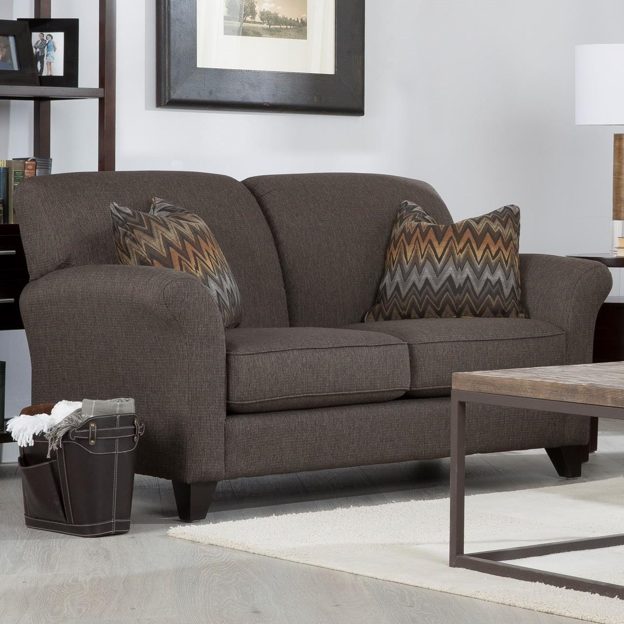2263 Loveseat by Decor-Rest at Reid's Furniture