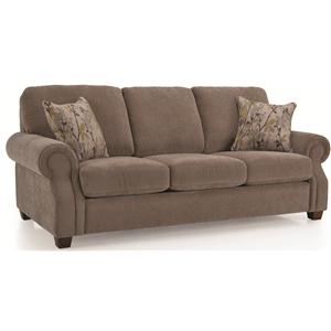 Casual Rolled Arm Sofa