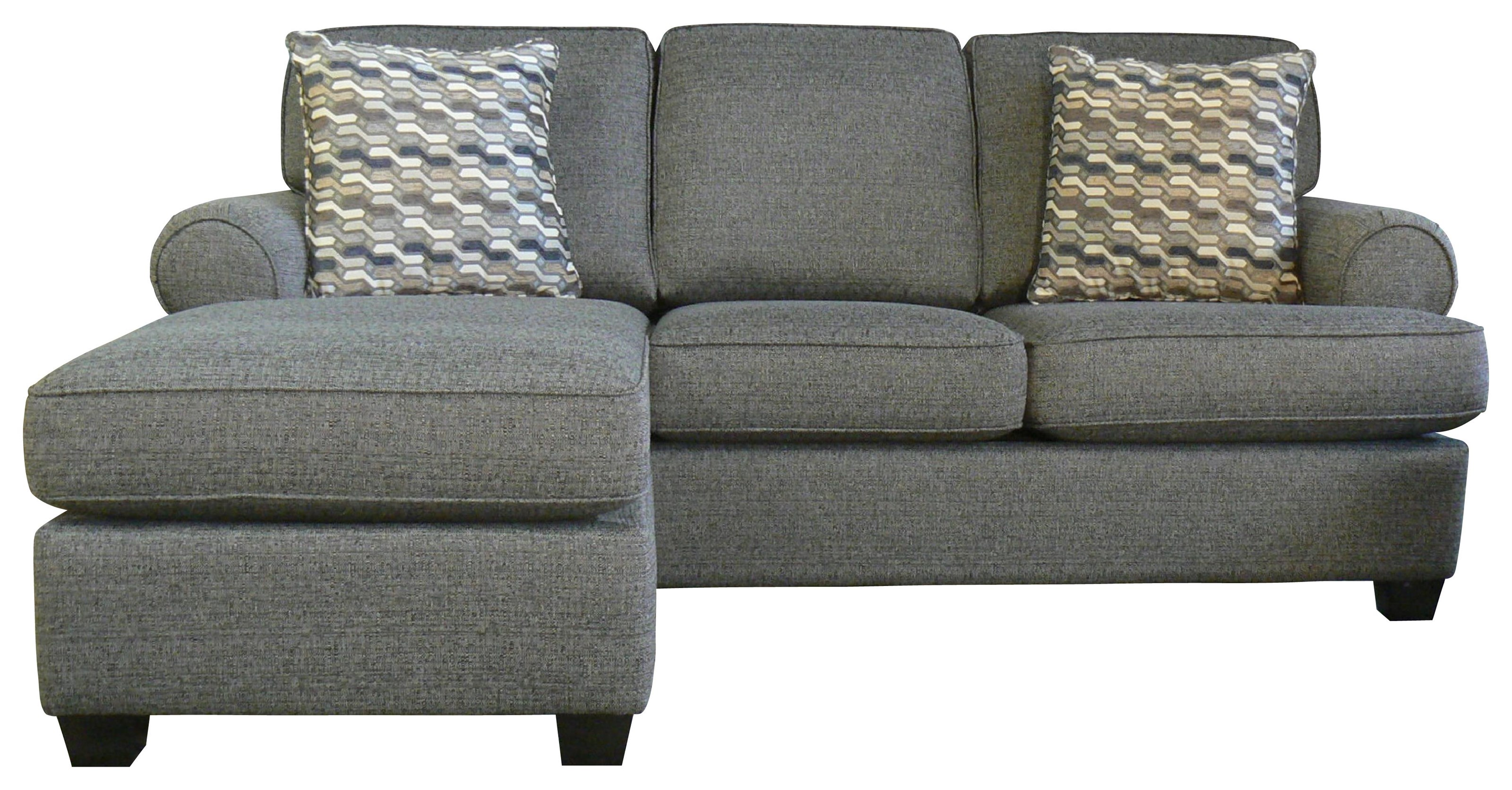 Daly Sofa with Chaise by Taelor Designs at Bennett's Furniture and Mattresses