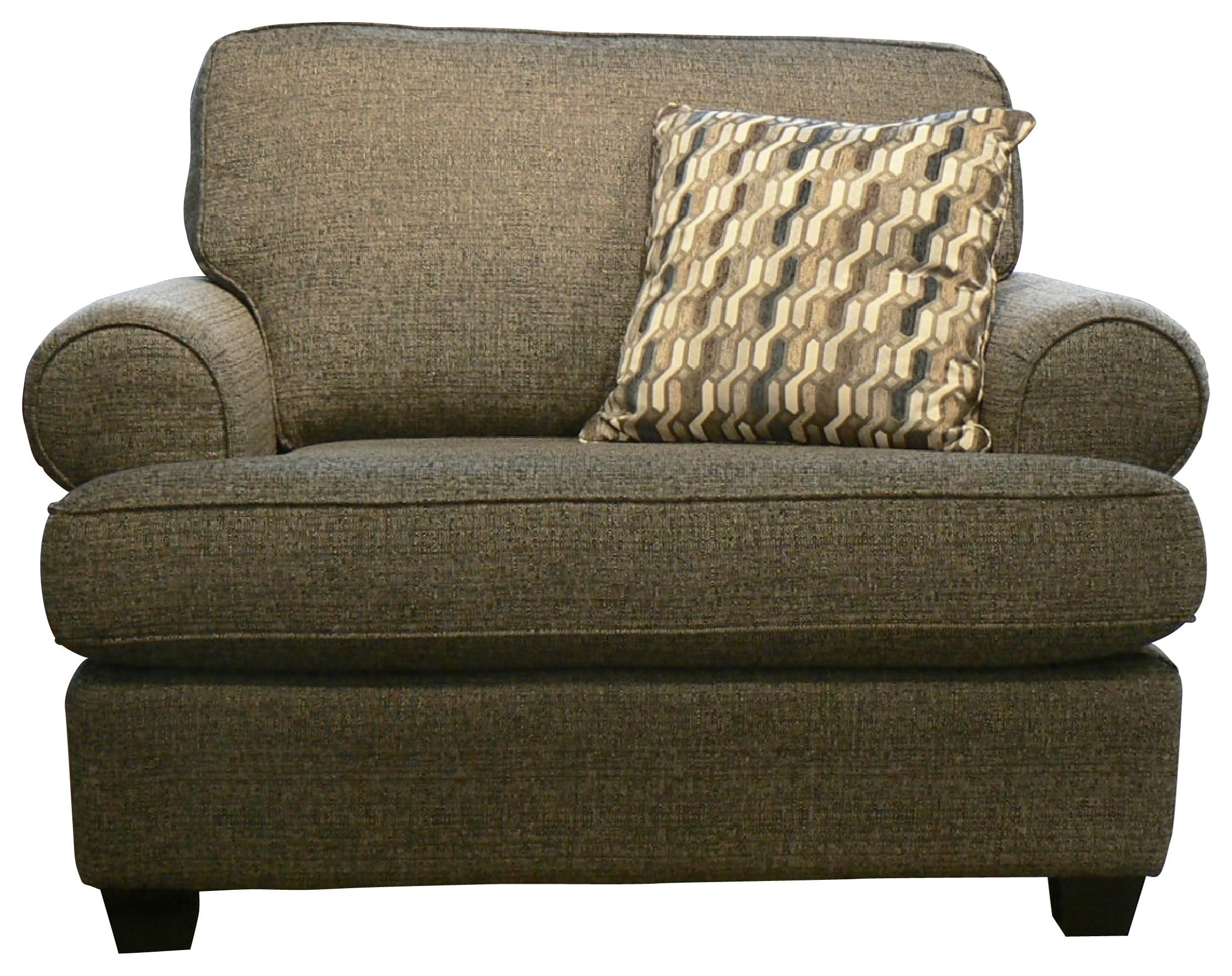 Daly Chair and a Half by Taelor Designs at Bennett's Furniture and Mattresses