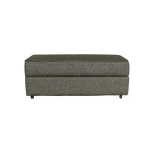 Transitional Customizable Storage Ottoman
