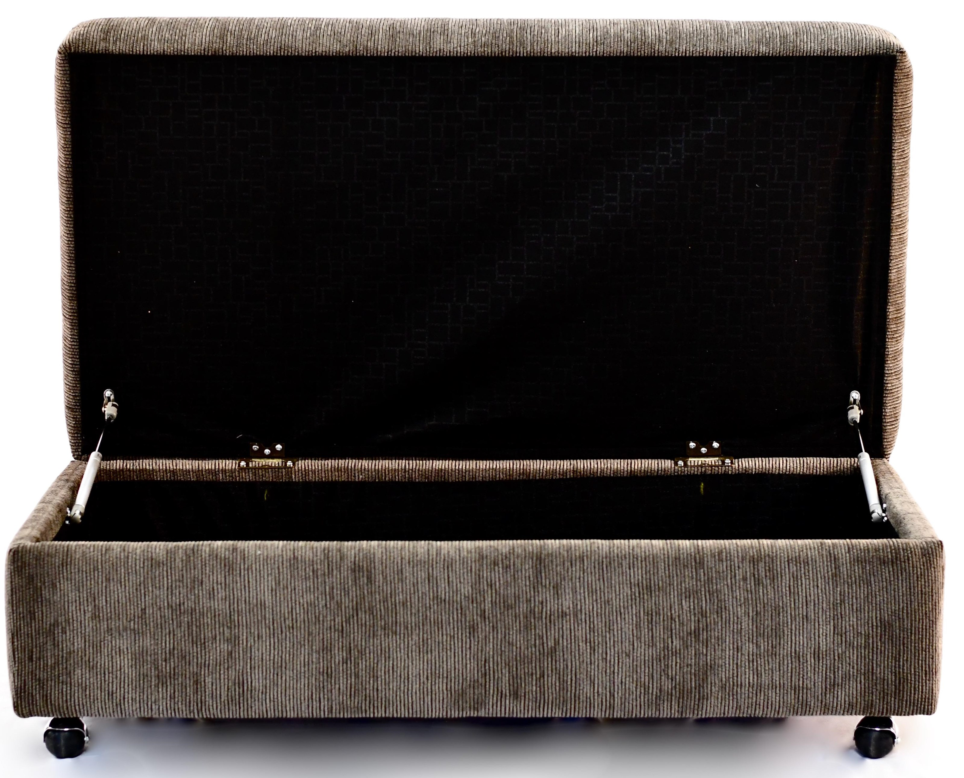 Daly Storage Ottoman by Taelor Designs at Bennett's Furniture and Mattresses