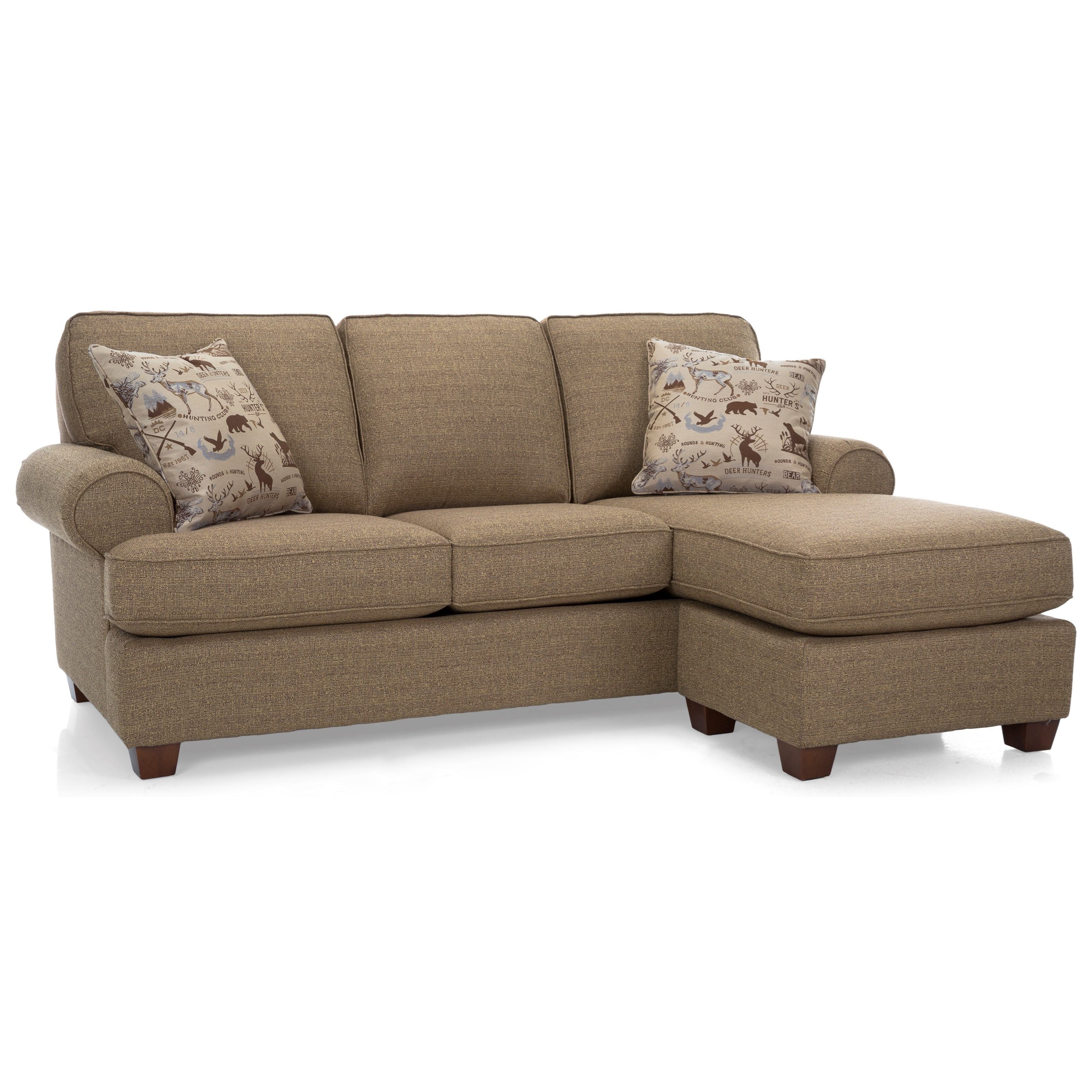 2285 Sofa with Chaise by Decor-Rest at Johnny Janosik