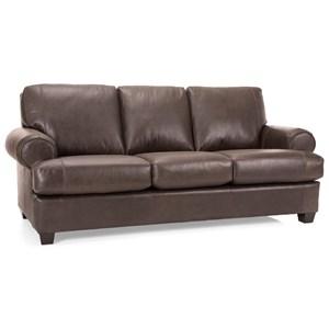 Transitional Customizable Sofa