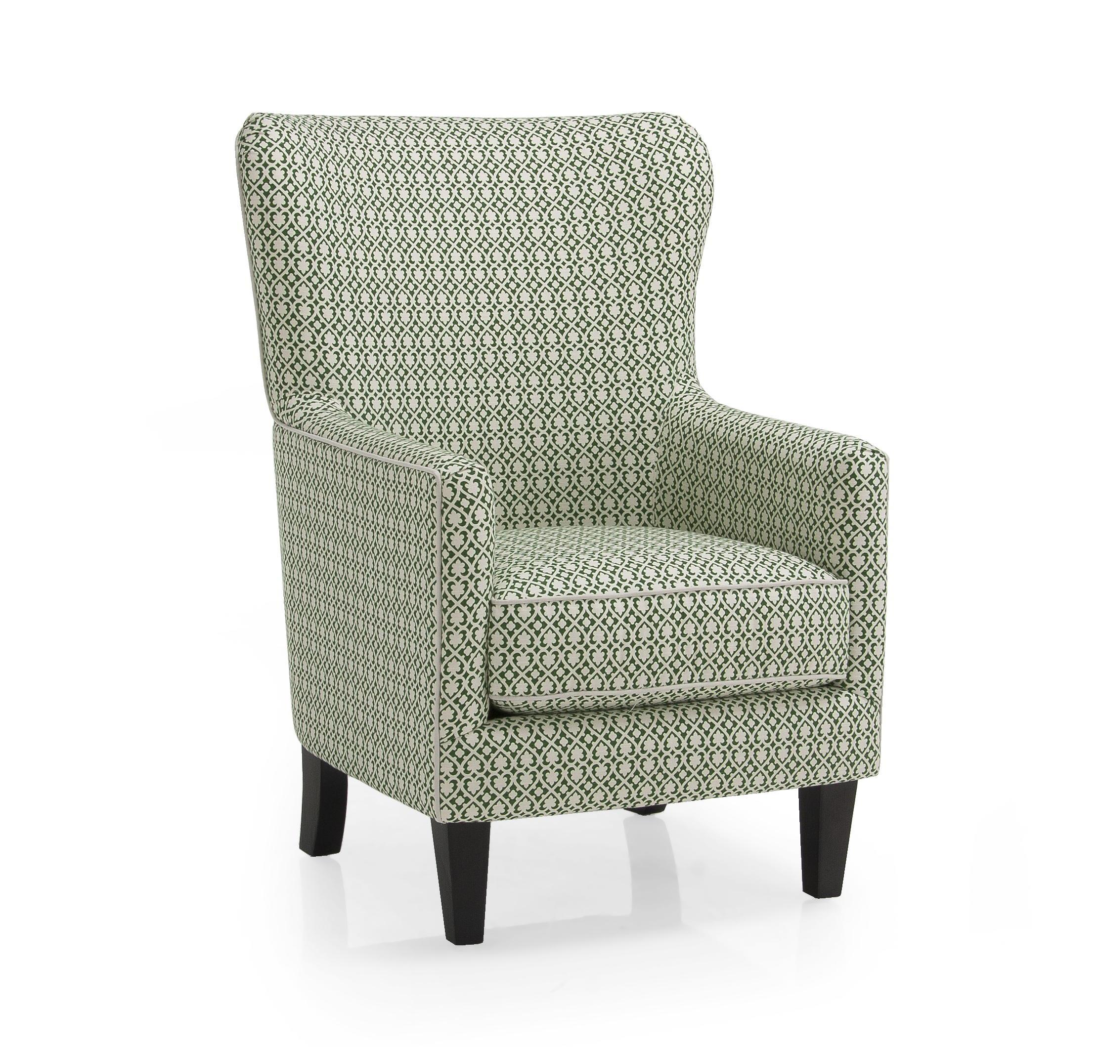 2379 Contemporary Wing Back Chair by Decor-Rest at Rooms for Less