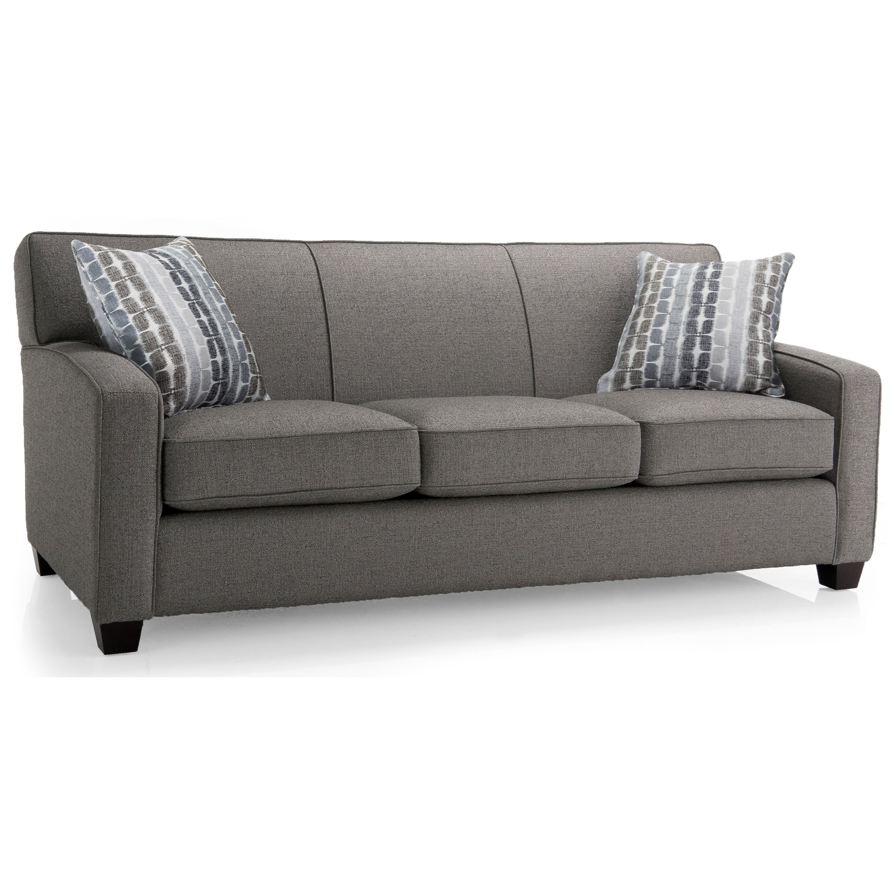 Nita Stationary Sofa by Taelor Designs at Bennett's Furniture and Mattresses
