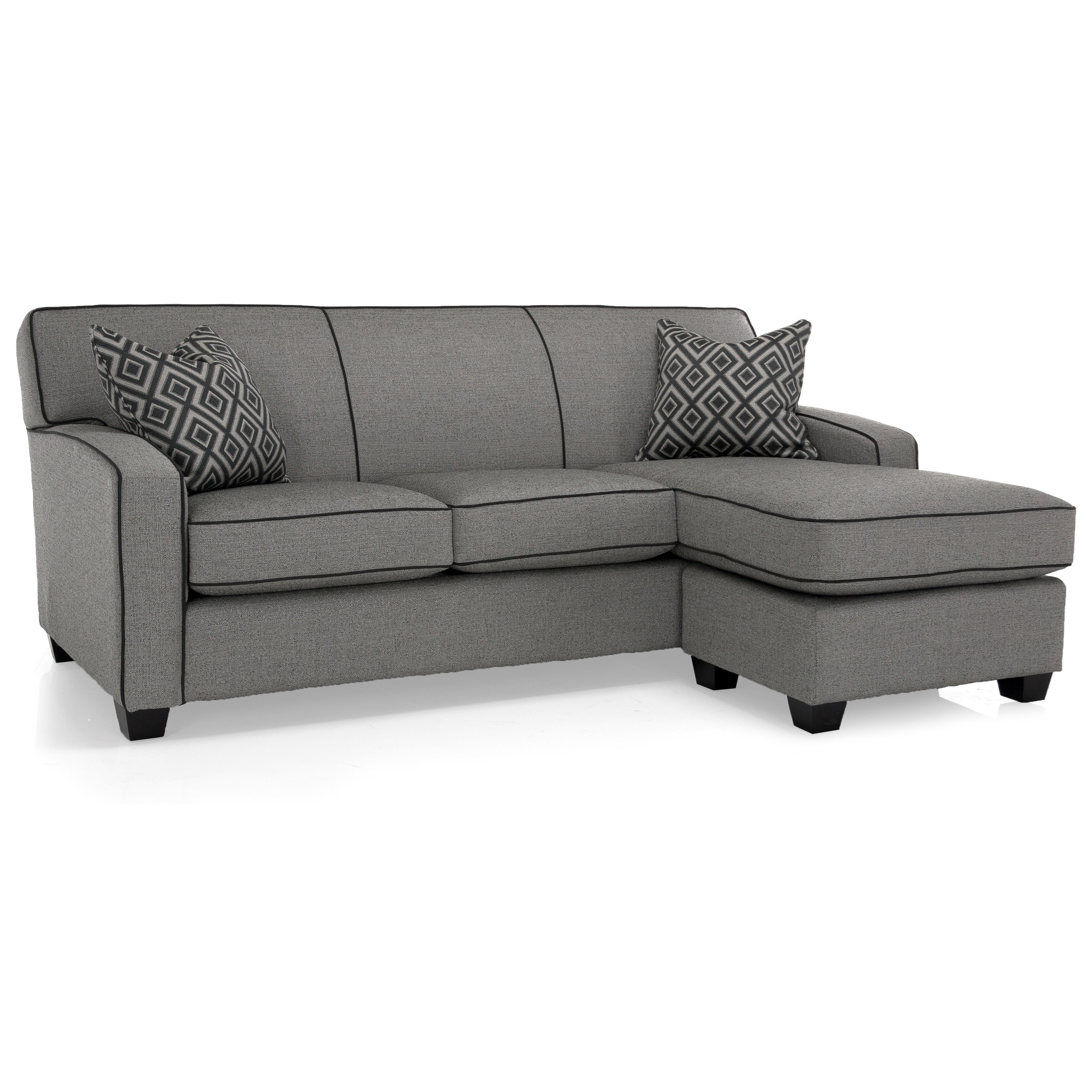 2401 Sofa with Chaise by Decor-Rest at Johnny Janosik