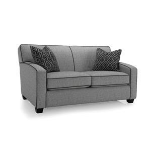 Double Sofabed with Accent Pillows