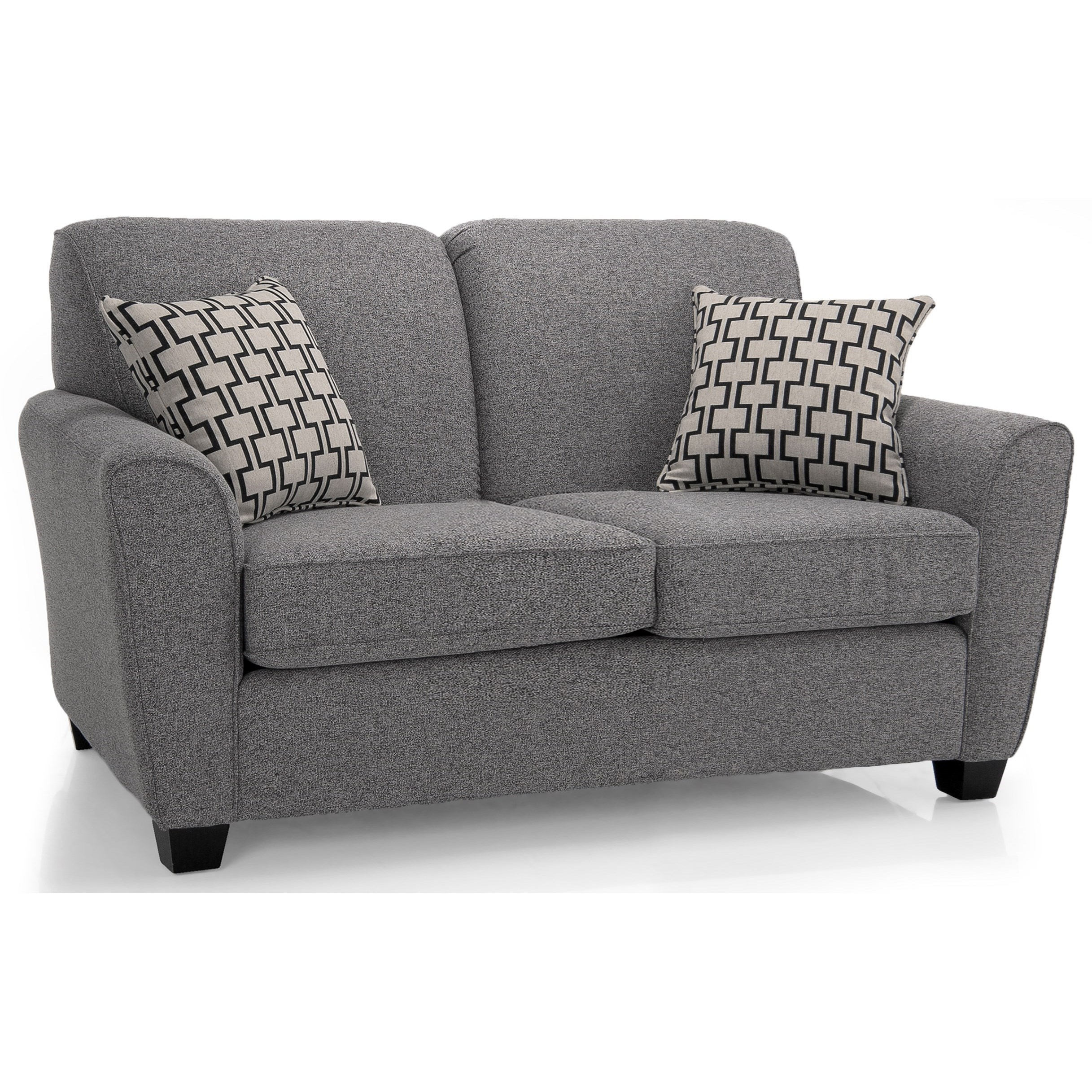 2404 Transitional Loveseat by Decor-Rest at Catalog Outlet