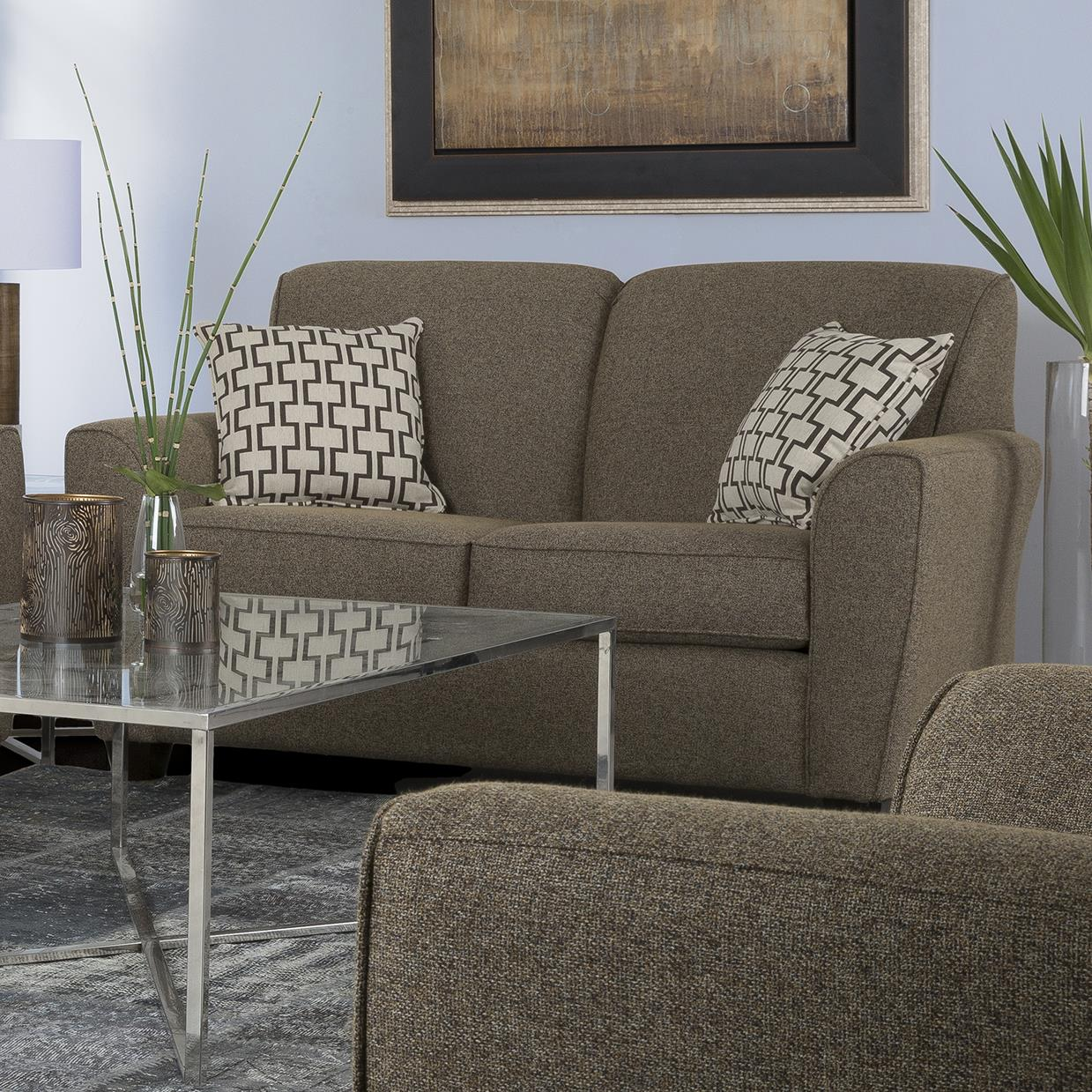 2404 Transitional Loveseat by Decor-Rest at Johnny Janosik