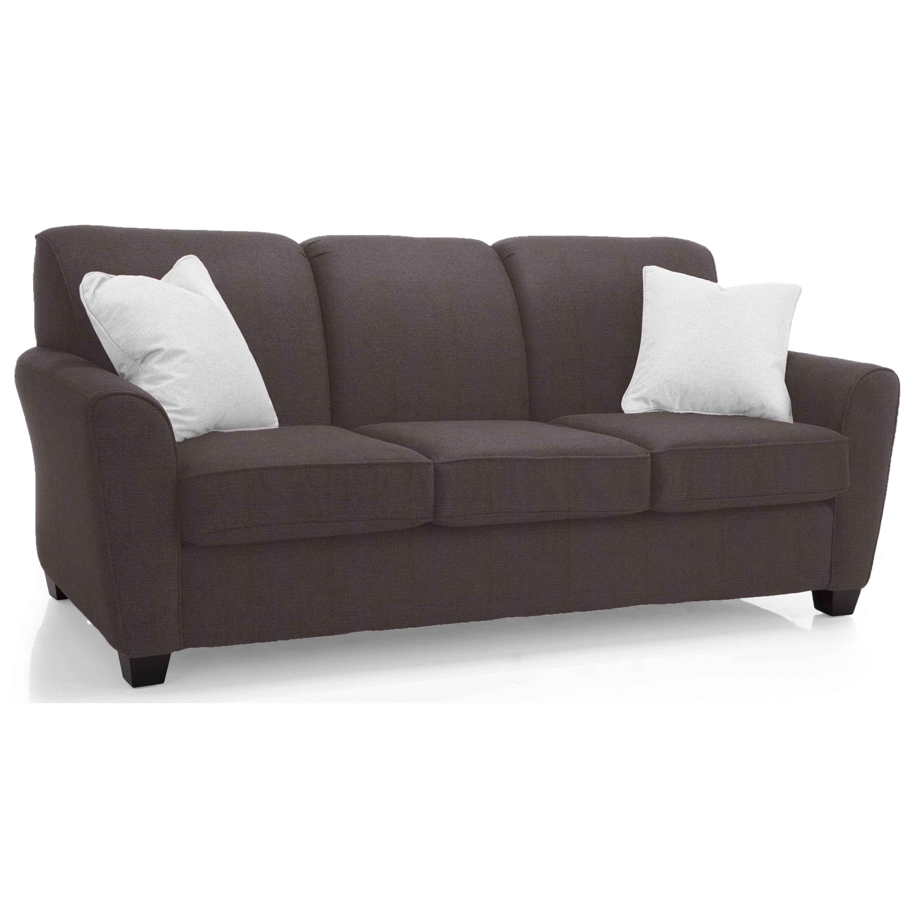 2404 Transitional Sofa by Decor-Rest at Lucas Furniture & Mattress