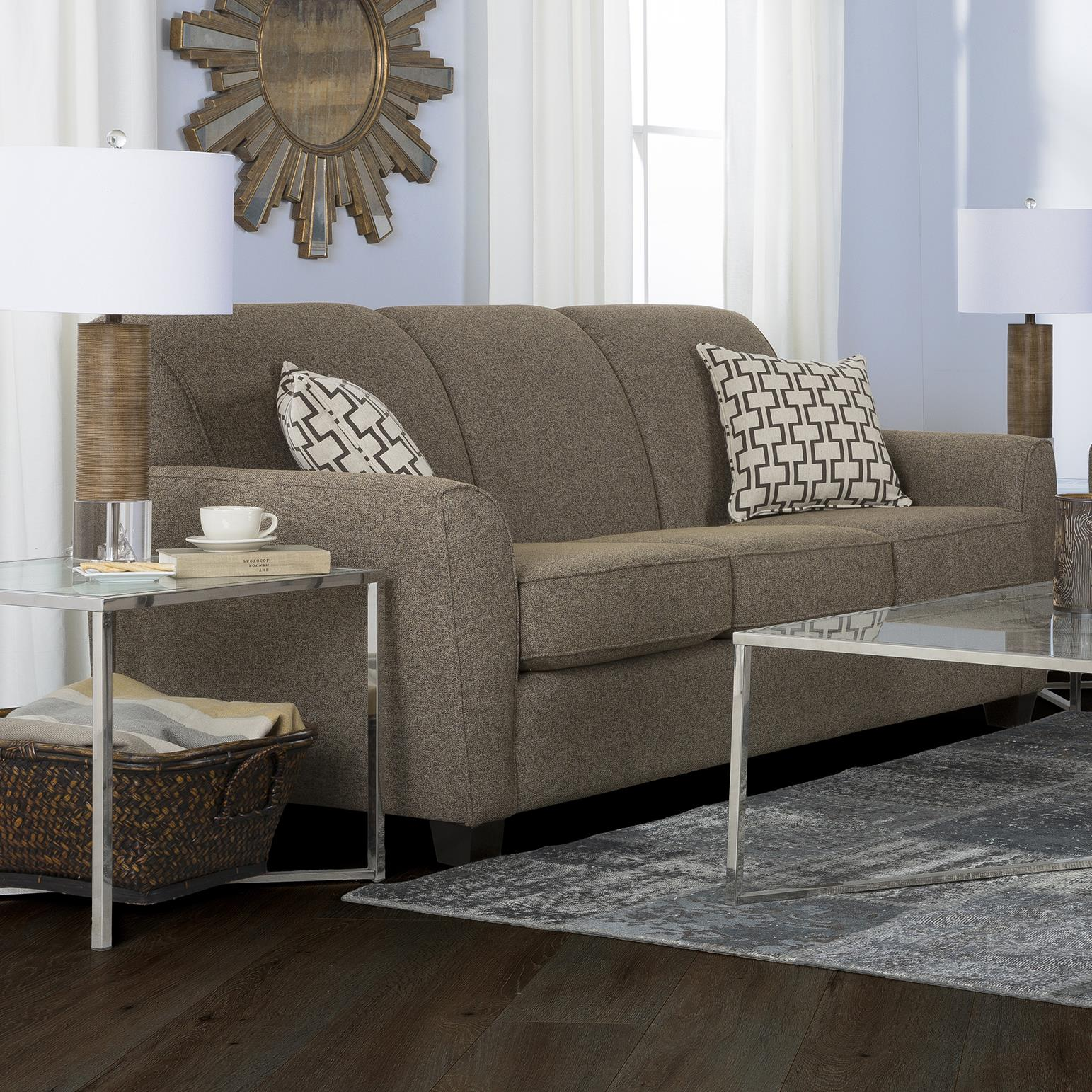 2404 Transitional Sofa by Decor-Rest at Wayside Furniture
