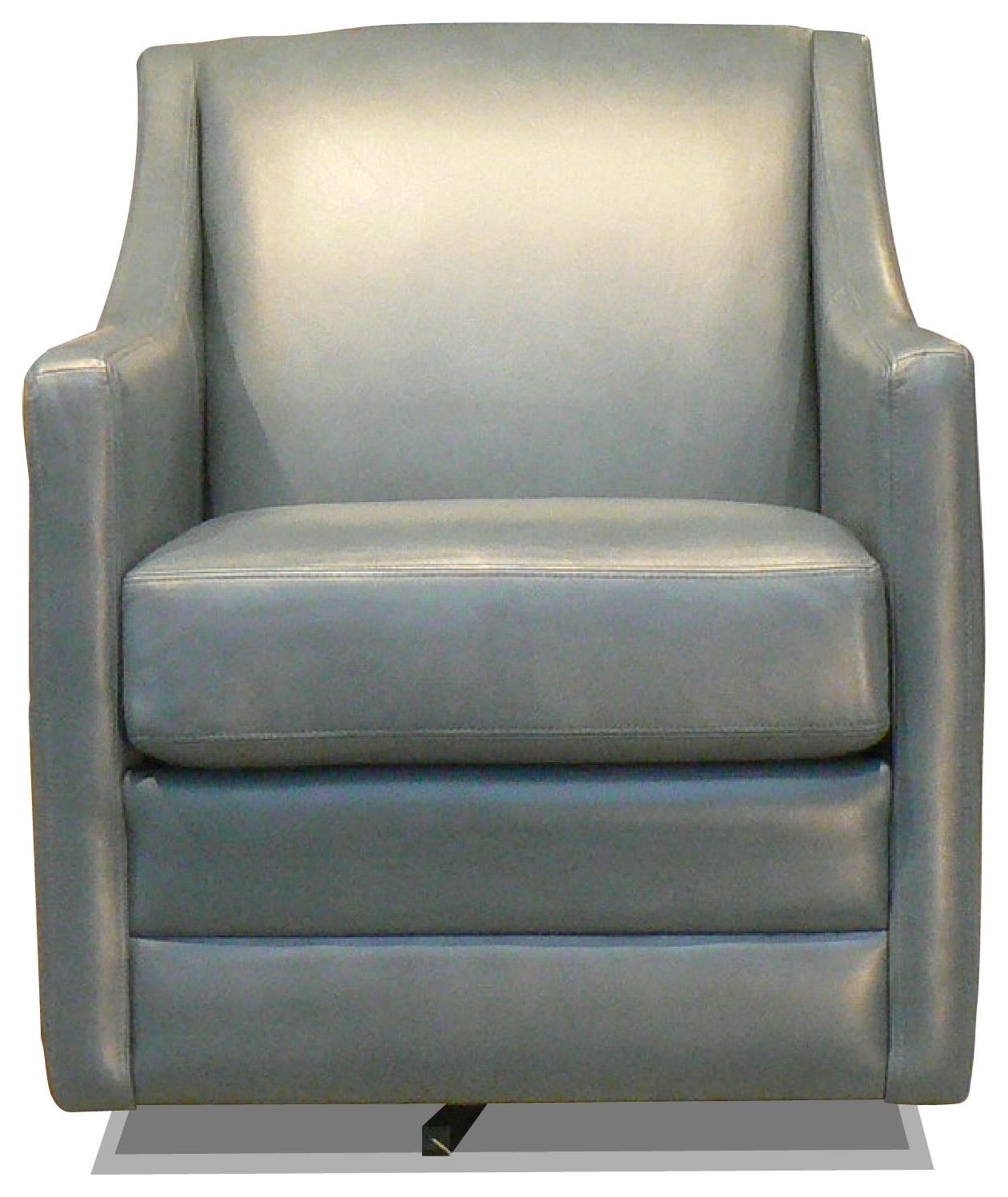 Tracy Leather Swivel Chair by Taelor Designs at Bennett's Furniture and Mattresses