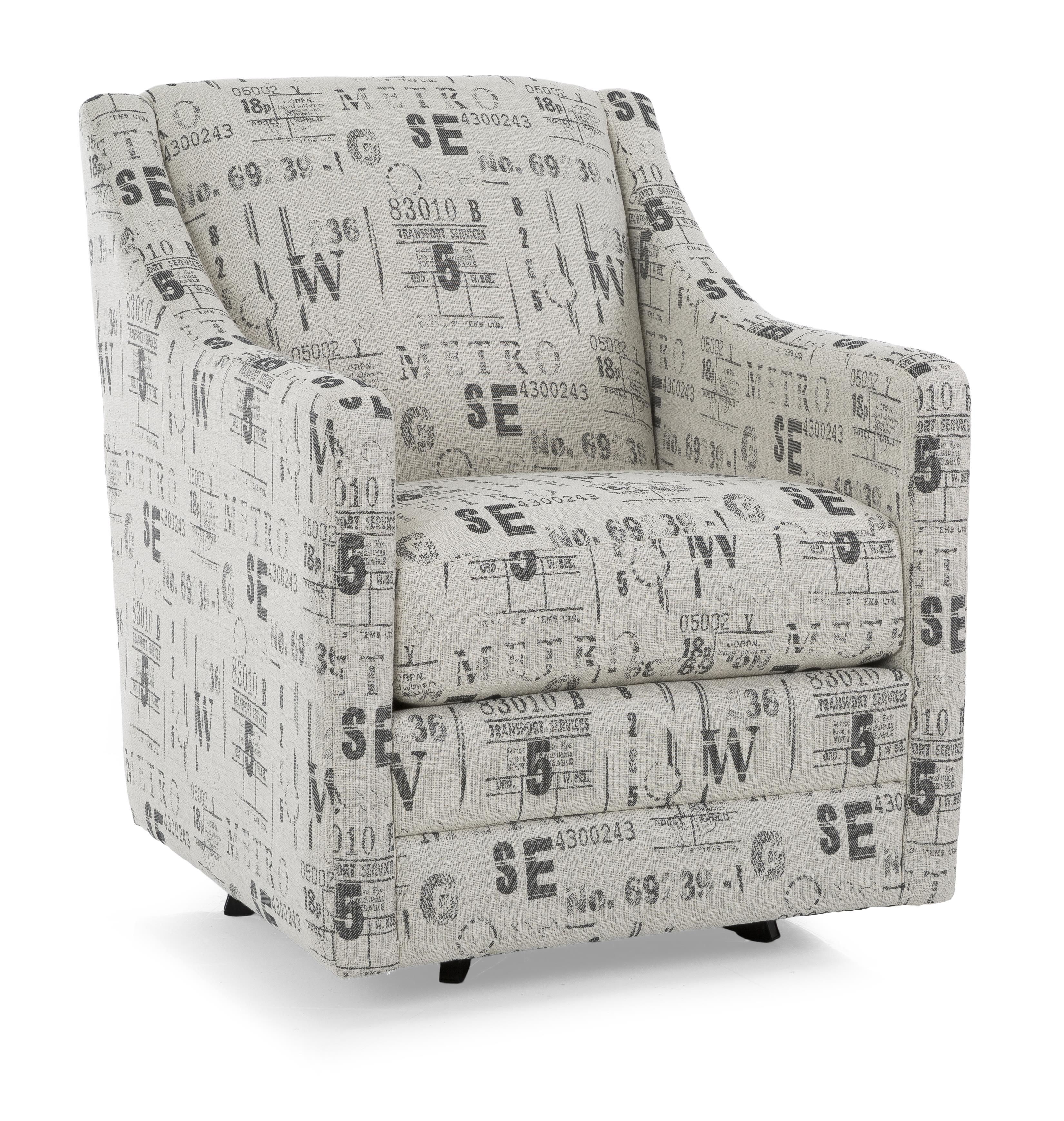 2443 Swivel Chair by Decor-Rest at Fine Home Furnishings