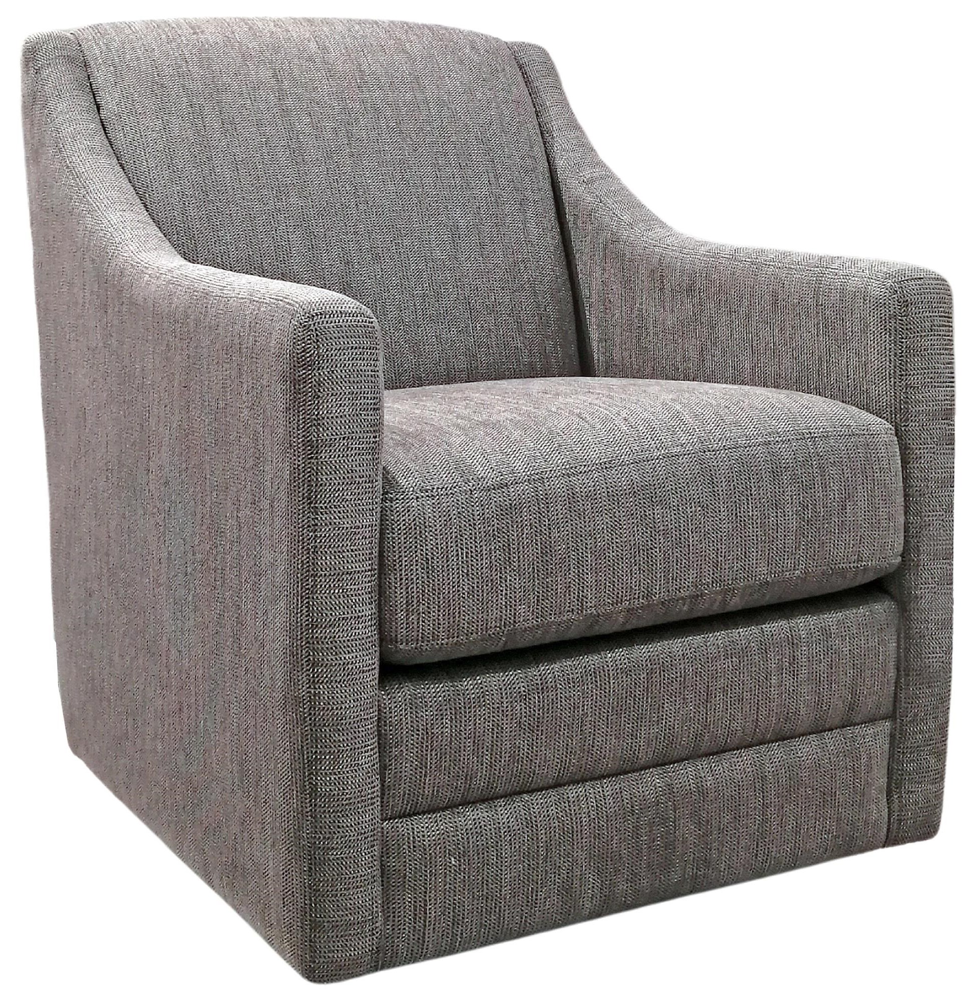 2443 Swivel Chair by Decor-Rest at Upper Room Home Furnishings