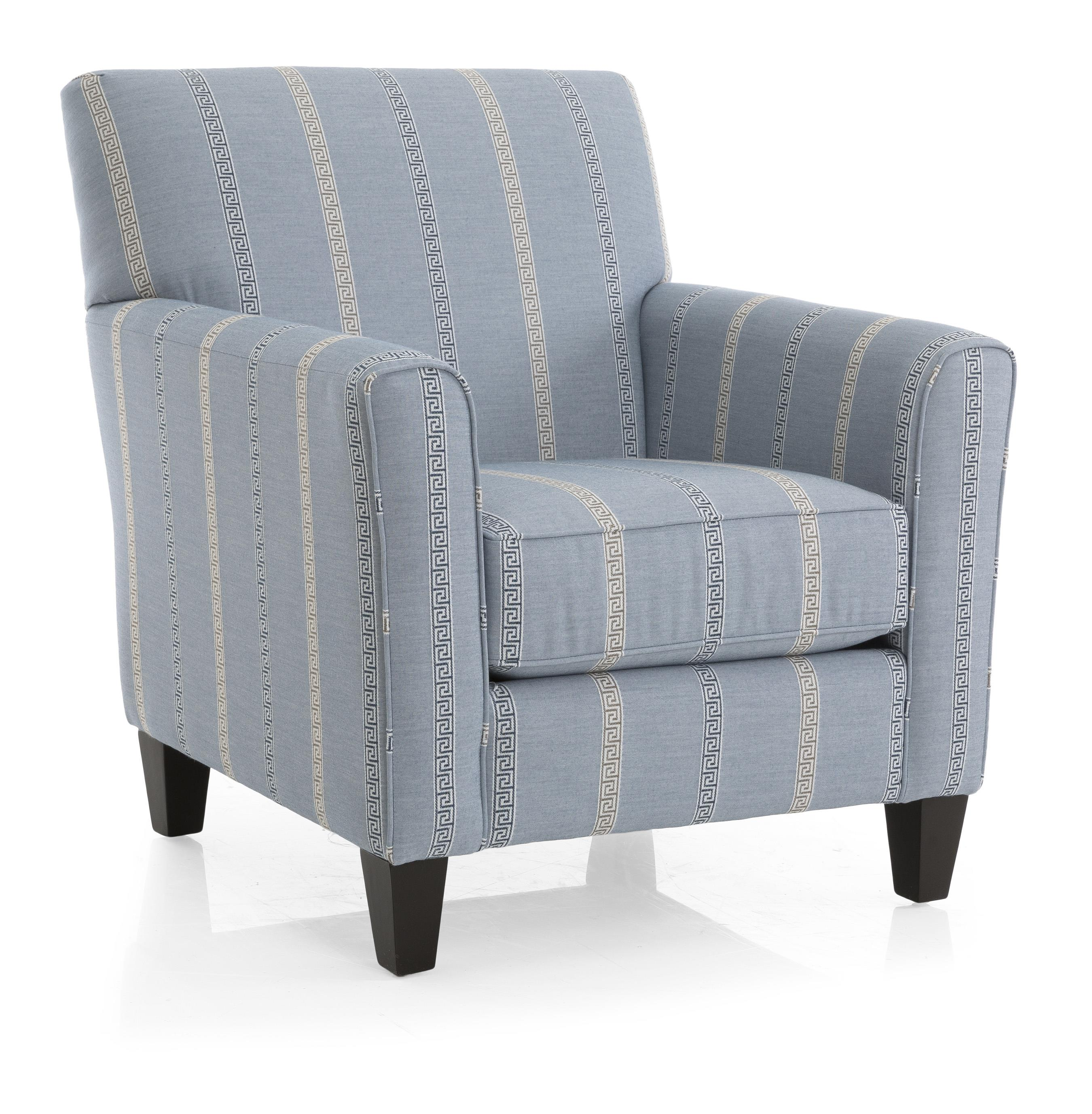 2468 Transitional Accent Chair by Decor-Rest at Upper Room Home Furnishings