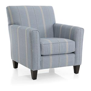 Decor-Rest 2468 Transitional Accent Chair