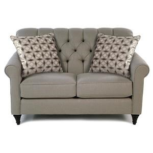 Love Seat w/ Tufted Back