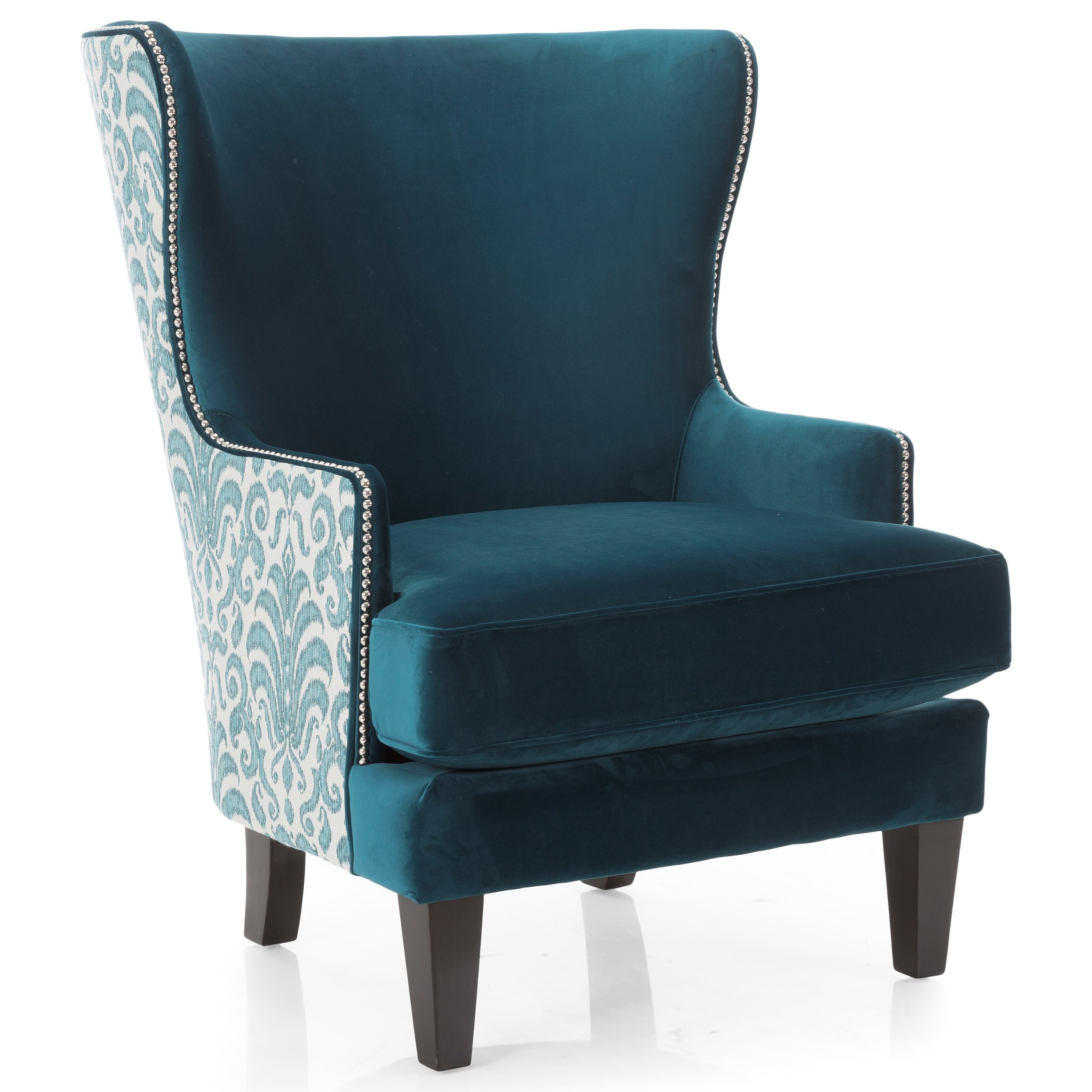 2492 Wing Back Chair by Decor-Rest at Johnny Janosik