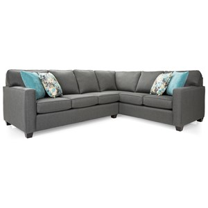 Contemporary L-Shaped Sectional Sofa