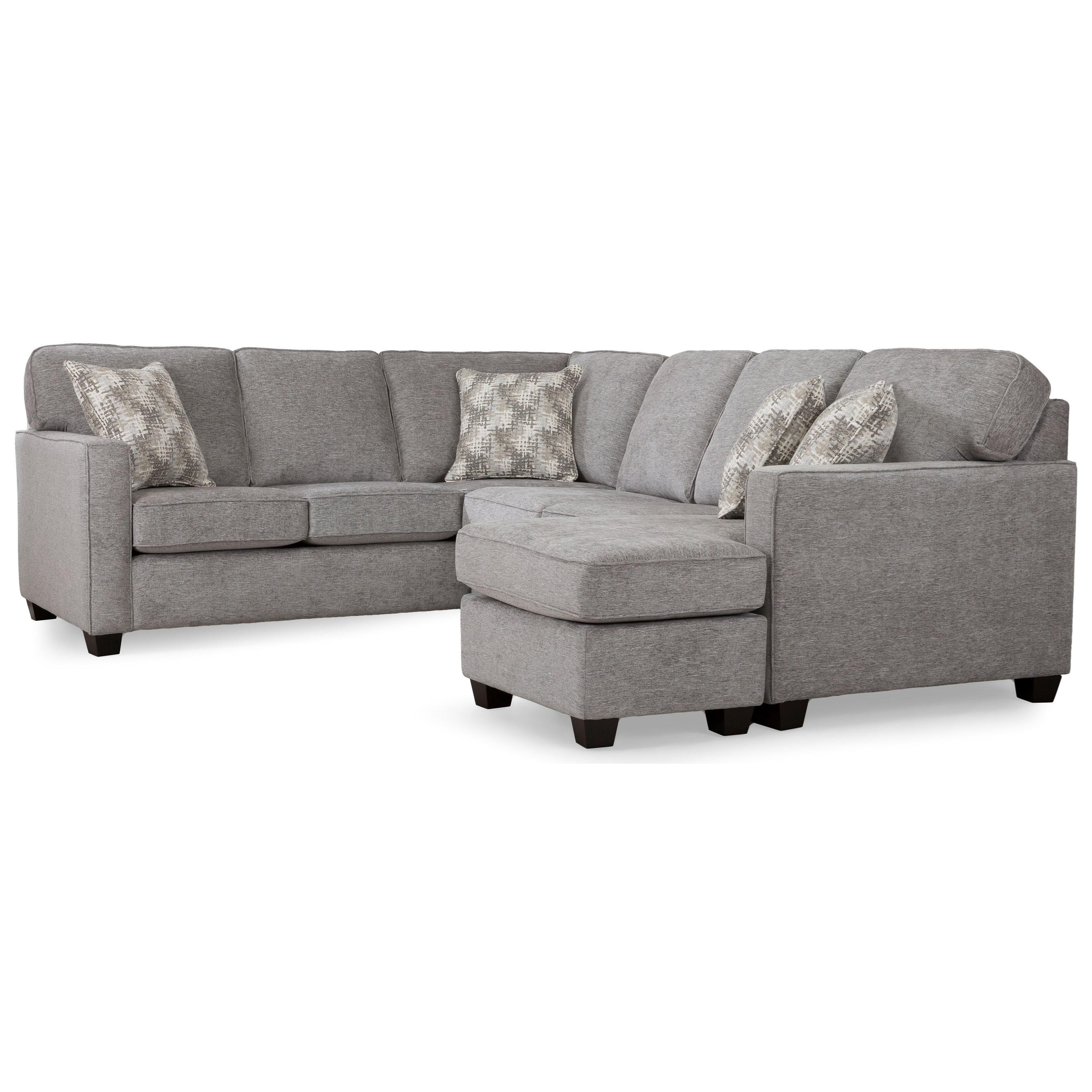 2541 Sectional Sofa by Decor-Rest at Johnny Janosik