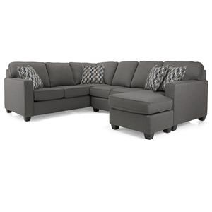 Rico Grey Sectional