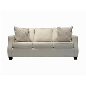 Contemporary Sofa with Tapered Feet