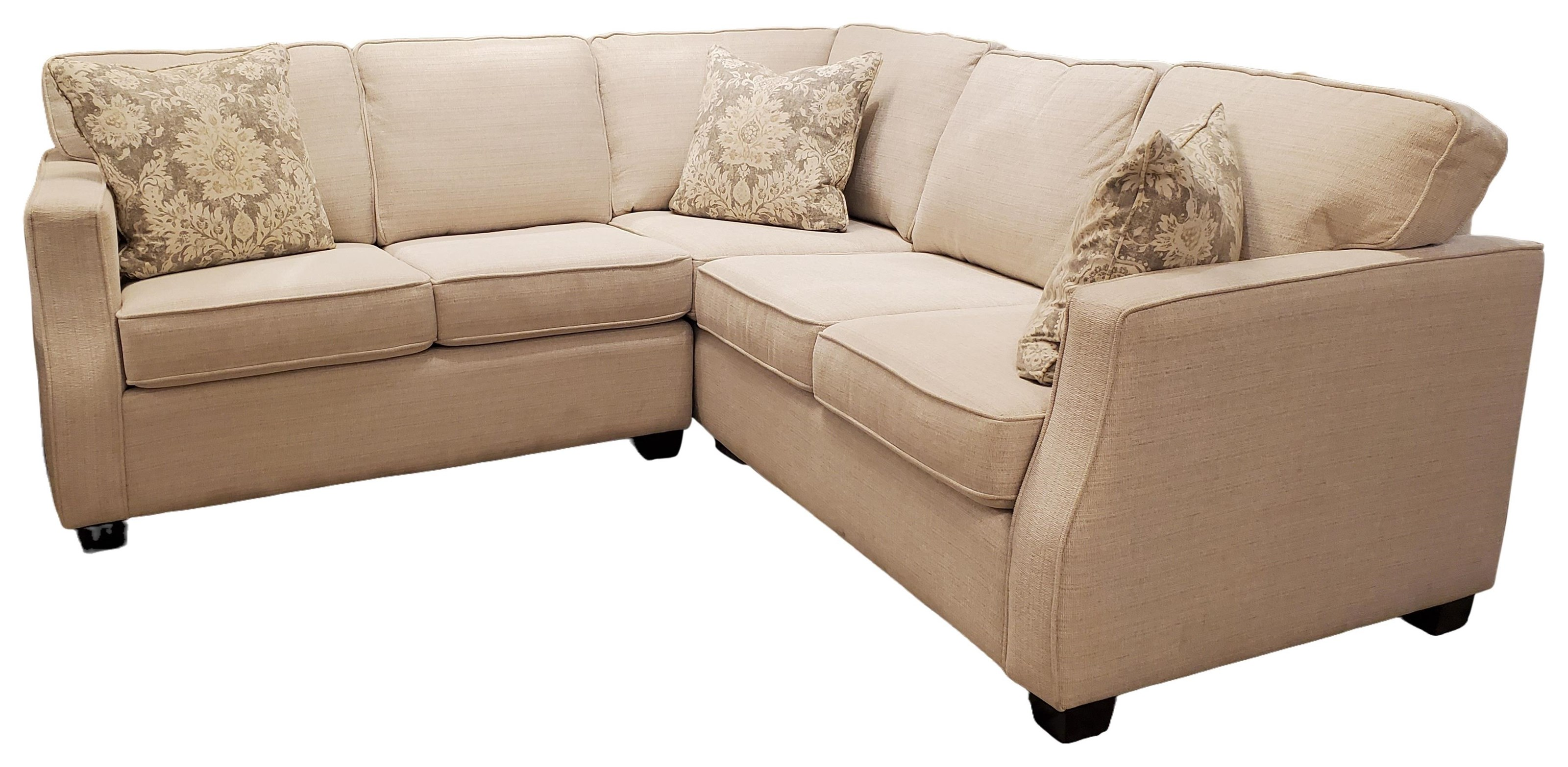 2570 Sectional Sofa by Decor-Rest at Upper Room Home Furnishings