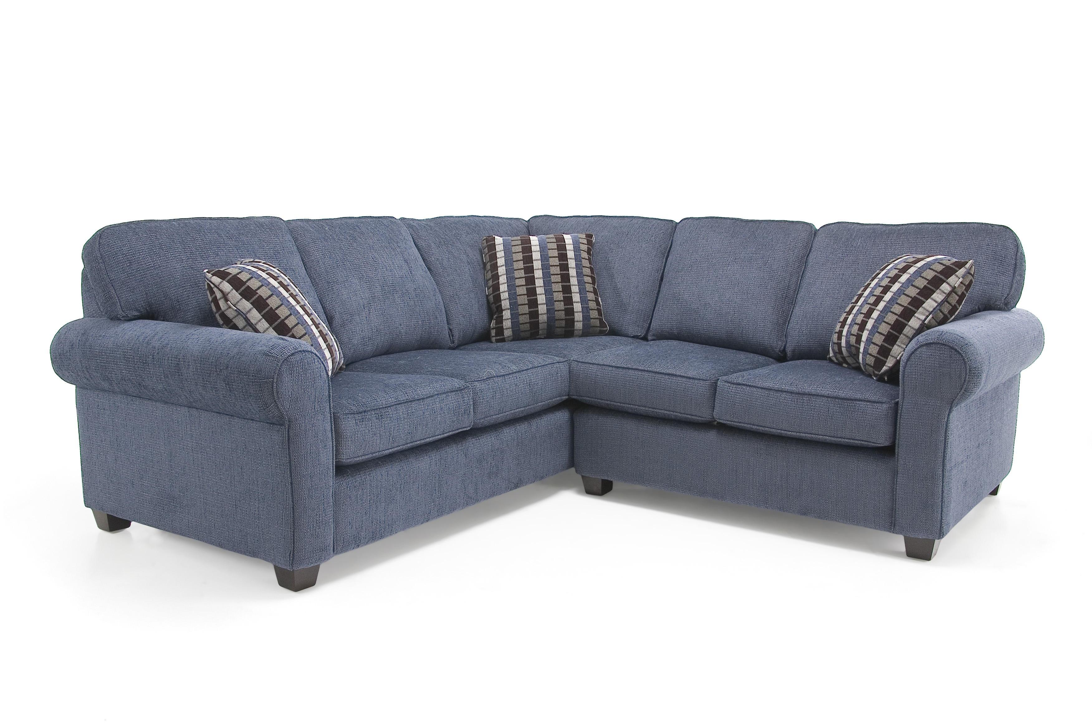 2576 Transitional Sectional Sofa by Decor-Rest at Johnny Janosik