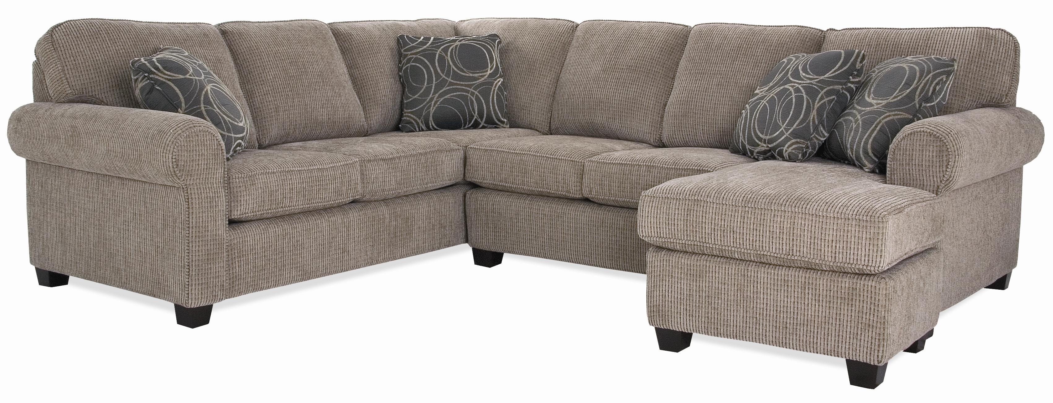 2576 Sectional by Decor-Rest at Wayside Furniture