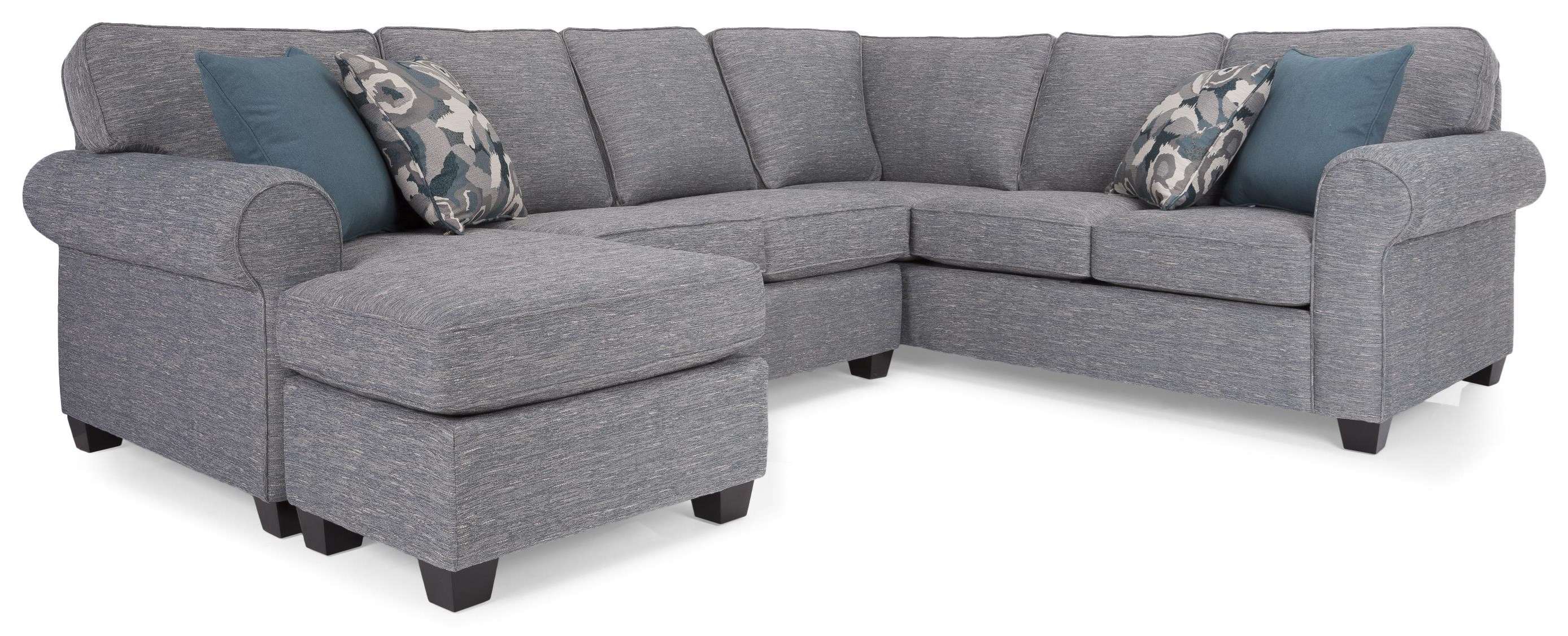 Saxon Sectional by Taelor Designs at Bennett's Furniture and Mattresses