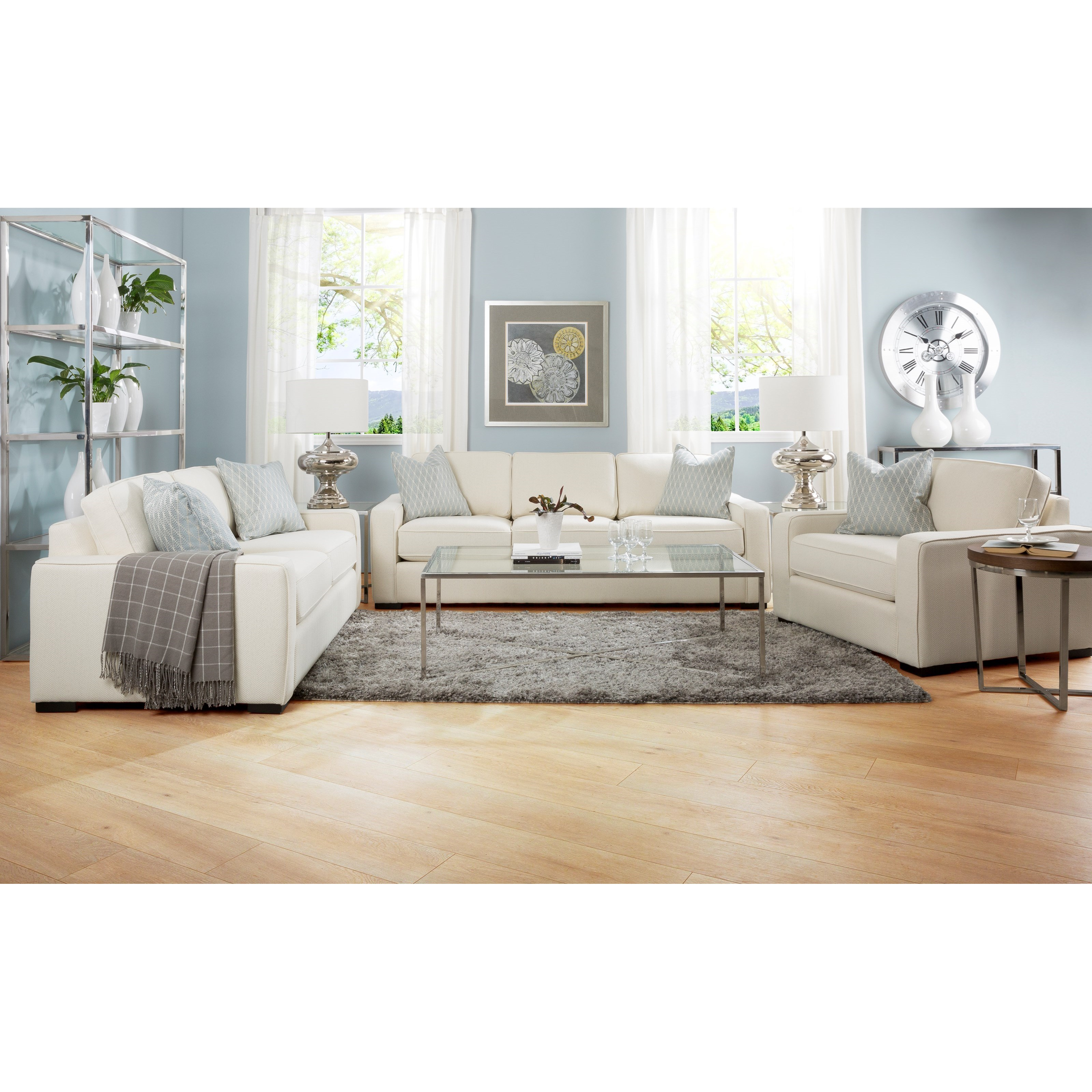 2591 Living Room Group by Decor-Rest at Rooms for Less