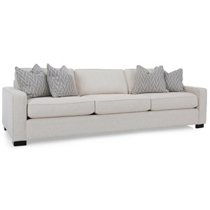 "Contemporary 102"" Sofa with Track Arms"
